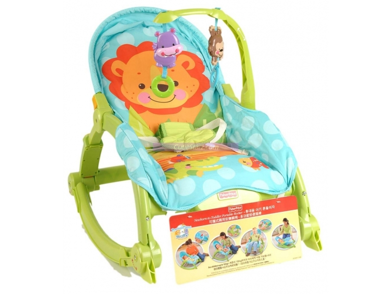 Fisher Price Portable Newborn To Toddler Rocker Quality Baby